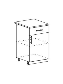 Шкаф нижний с 1 ящиком Модена ШН1Я 500