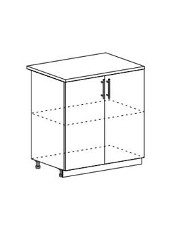 Шкаф нижний Модена ШН 800