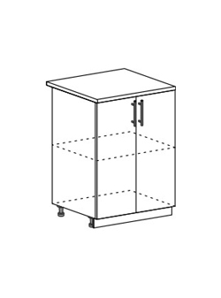 Шкаф нижний Модена ШН 600