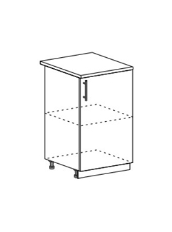 Шкаф нижний Модена ШН 500