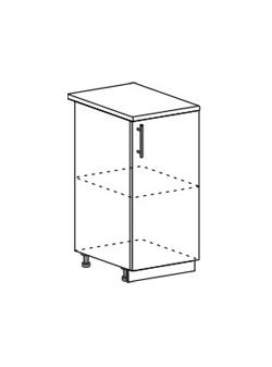 Шкаф нижний Модена ШН 400