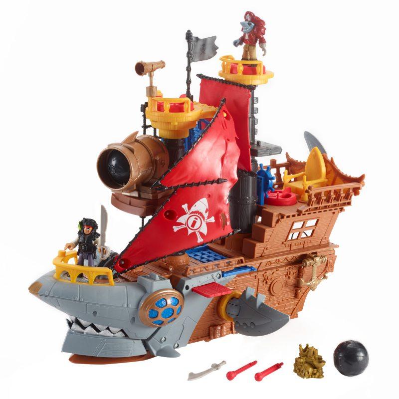 """пиратский корабль """"Shark Bite"""" + аксессуары"""
