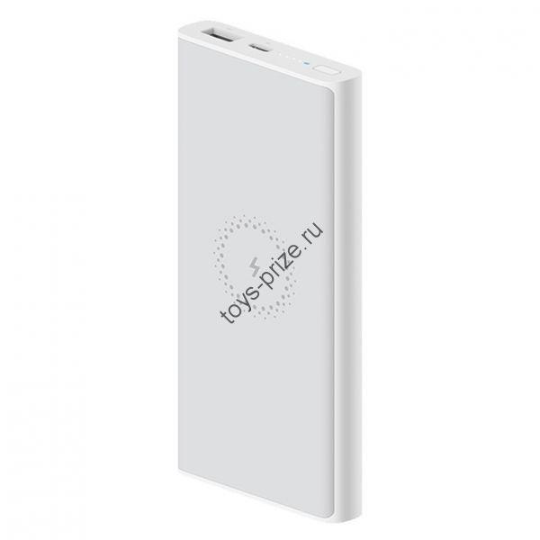Внешний аккумулятор с функцией беспроводной зарядки Xiaomi Mi Wireless Charger 10000mAh WPB15ZM