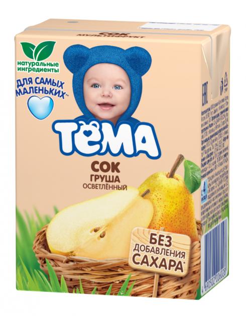 Сок Тема Грушевый осв.