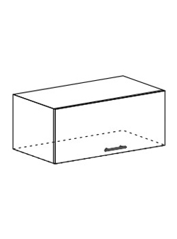 Шкаф горизонтальный Модена ШВГ 800