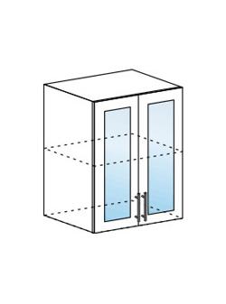 Шкаф верхний со стеклом Модена ШВС 600