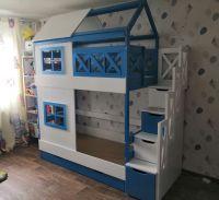 Кровать двухъярусная Домик Felicia №12А