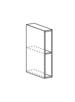 Шкаф верхний открытый Модена ШВБ 150