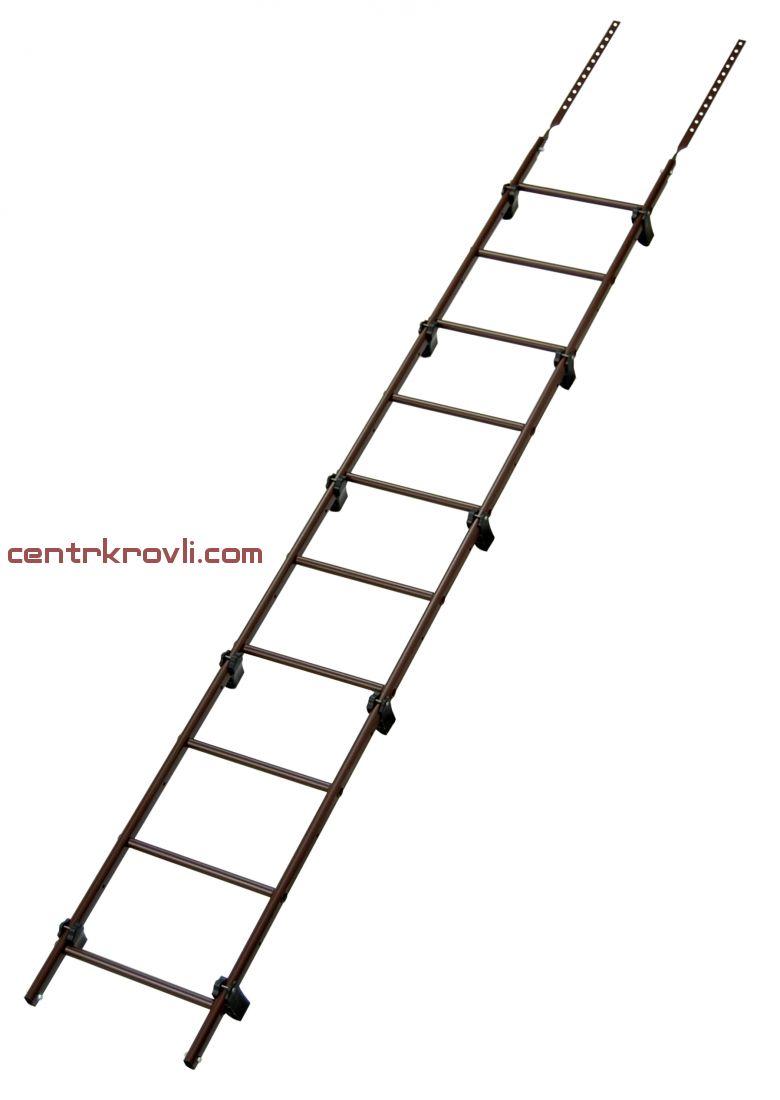 Лестница кровельная Grand Line 3м