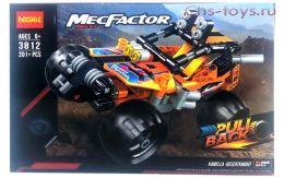 Конструктор DECOOL Technic MecFactor Гоночная машина 3812 (Аналог LEGO Technic) 201 дет