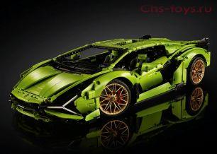 Конструктор  MOULD KING Technic Lamborghini Sian FKP 37 13057 ( 42115) 3868 дет