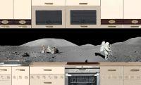 Наклейка на фартук кухни - Apollo 17 | интерьерные наклейки