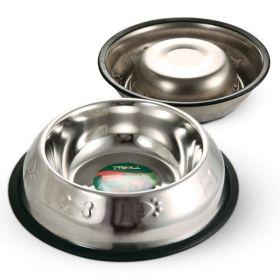 Triol Миска металлическая на резинке с тиснением, 0,40л
