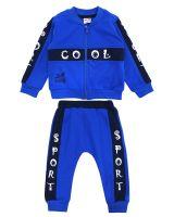 "Спортивный костюм для новорожденных Bonito ""Cool"" синий"