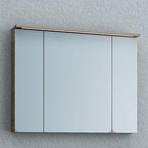 Зеркальный шкаф Kolpa San ADELE (Адель) со светодиодной подсветкой 90х71 ФОТО