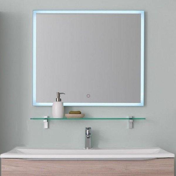 Зеркало Kolpa San TARA (Тара) c подсветкой и сенсорным управлением 100х70 ФОТО