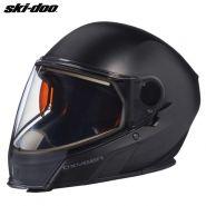 Шлем Ski-Doo Oxygen - Матовый чёрный (с подогревом)