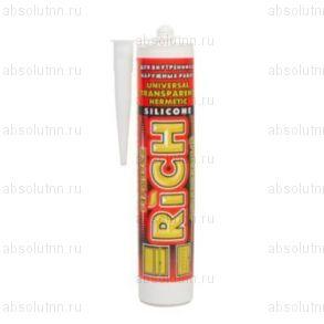 Герметик силиконовый RICH универсальный белый 280 мл