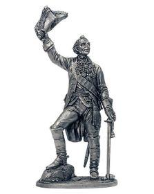 А.В.Суворов - генералиссимус, князь Италийский граф Суворов-Рымникский. 1799 г. (олово)