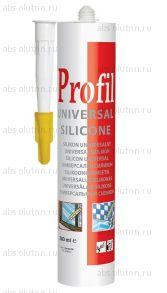 Герметик силиконовый Profil универсальный белый 280 мл