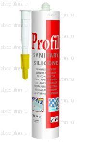 Герметик силиконовый Profil санитарный белый 280 мл