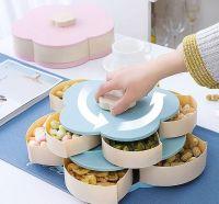 Раздвижная Менажница Для Сухофруктов И Конфет Candy Box Pattern Rotating-2