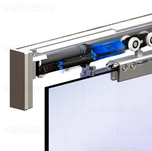 Механизм синхронизации для стеклянных дверей Herkules Glass