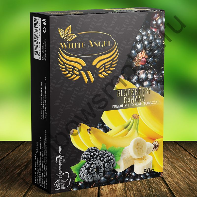 White Angel 50 гр - Blackberry Banana (Ежевика Банан)
