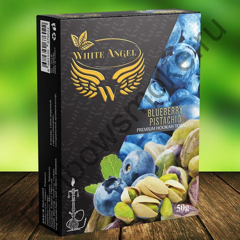 White Angel 50 гр - Blueberry Pistachio (Черника Фисташки)