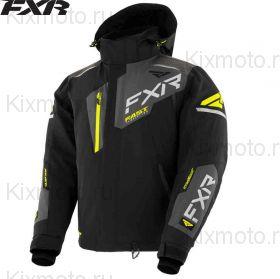 Куртка FXR Renegade FX, Черно-серо-желтая