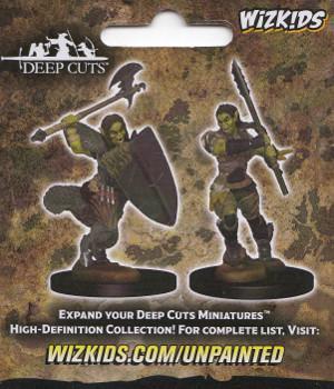 Pathfinder Miniatures - Half-Orc Female Barbarian