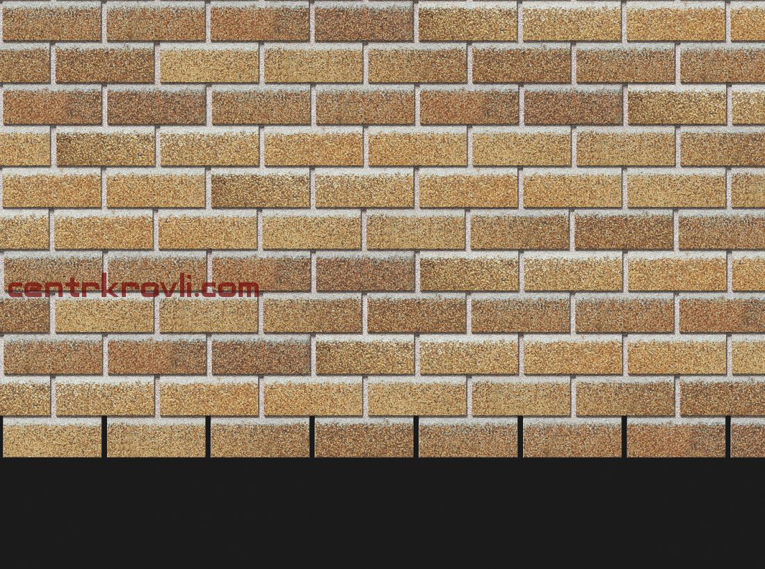 Фасадная черепица Docke Premium Коллекция Brick (Песчаный)