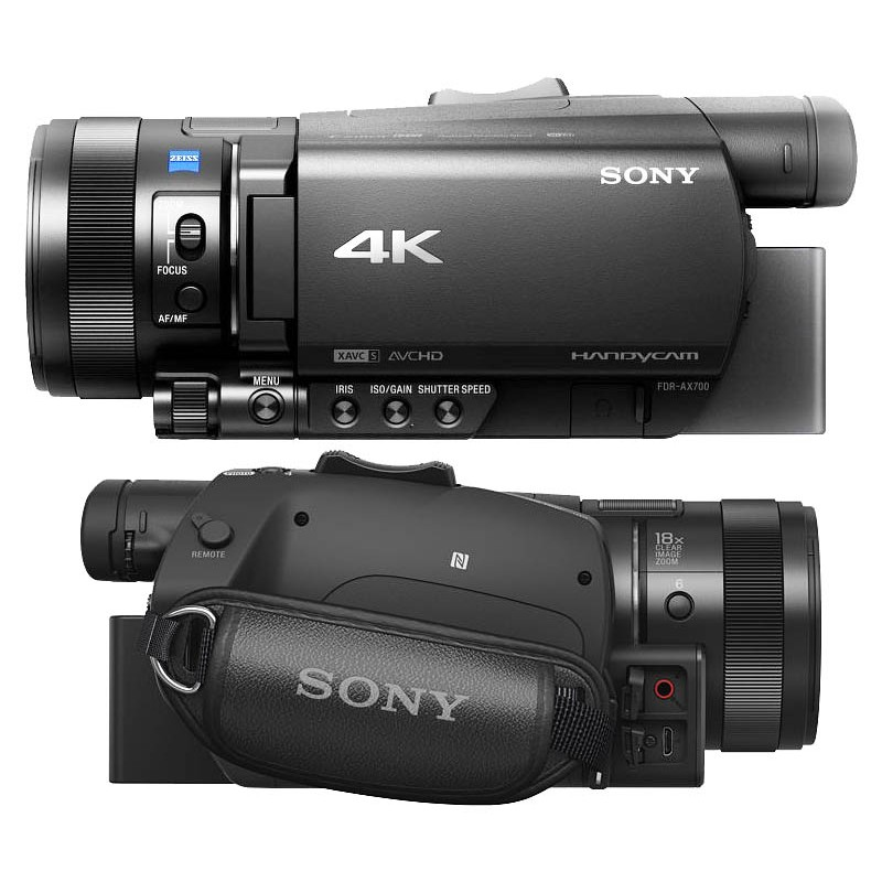 Видеокамера Sony FDR-AX700( АНГ МЕНЮ)