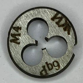 Плашка М4,0х0,7 9ХС ГОСТ9740-71