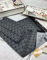 Gucci шарф серый