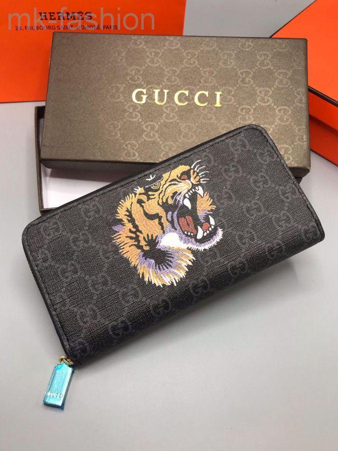 Gucci кошелек с тигром