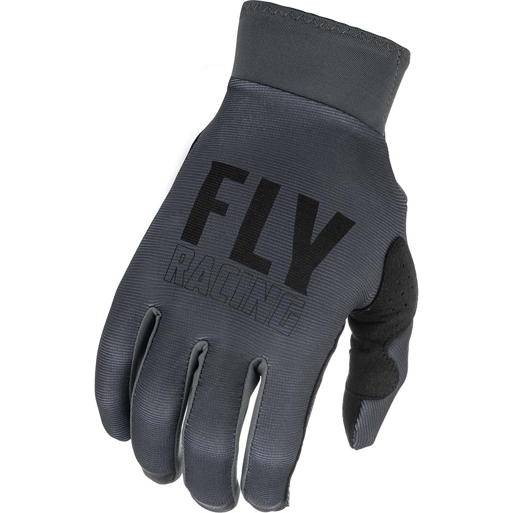 Fly Racing 2021 Pro Lite Grey/Black перчатки