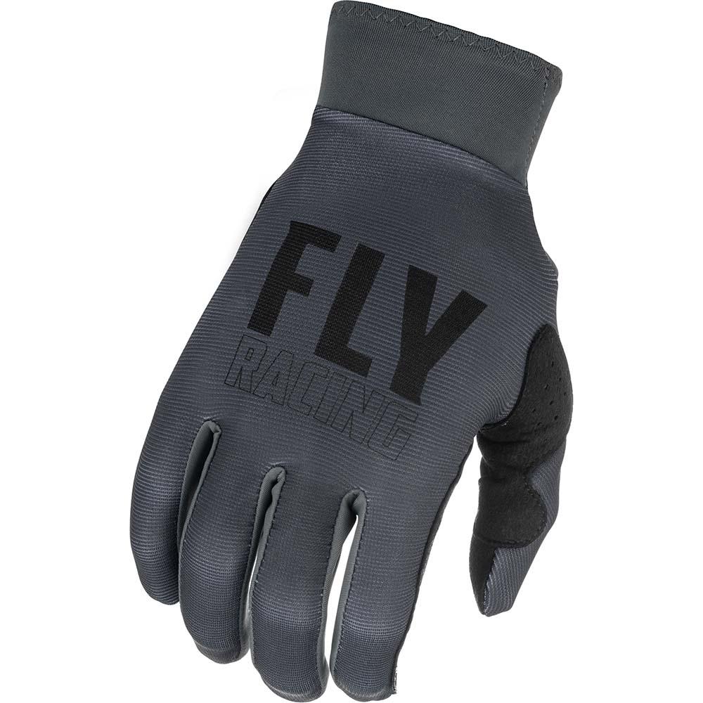 Fly Racing 2021 Pro Lite Grey/Black перчатки
