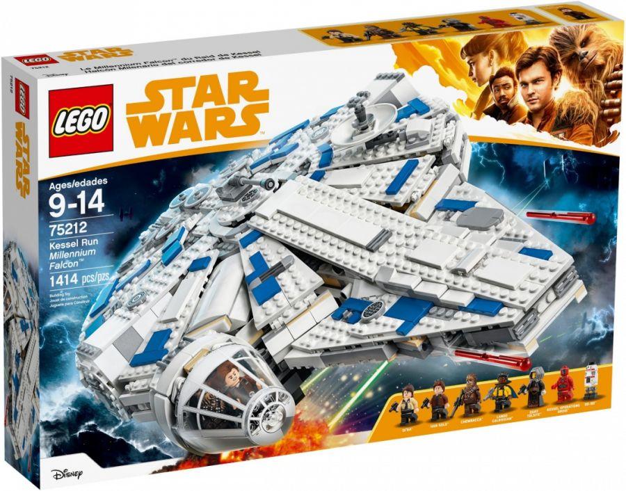 Конструктор LEGO Star Wars 75212 Сокол Тысячелетия на Дуге Кесселя
