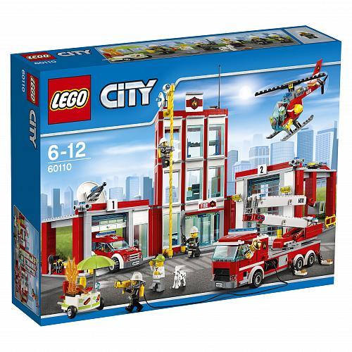Конструктор Пожарная часть LEGO City 60110