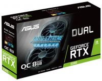 ASUS DUAL GeForce RTX 2080 1515MHz PCI-E 3.0 8192MB 14000MHz 256 bit 3xDisplayPort HDMI HDCP Advanced EVO