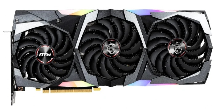 MSI GeForce RTX 2080 SUPER 1845MHz PCI-E 3.0 8192MB 15500MHz 256 bit HDMI HDCP GAMING X TRIO