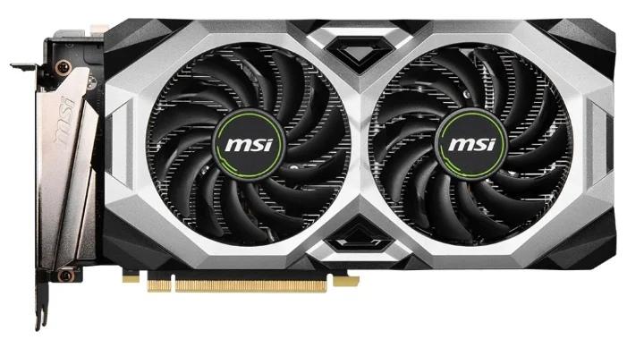 MSI GeForce RTX 2080 SUPER 1830MHz PCI-E 3.0 8192MB 15500MHz 256 bit 3xDisplayPort HDMI HDCP VENTUS XS OC