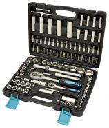 AV-212108 Набор инструмента 108 предметов, 1/2 1/4 DR, CrV AUTOVIRAZH