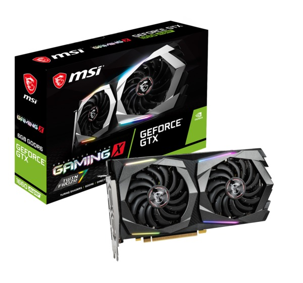 MSI GeForce GTX 1660 SUPER Gaming X 6 GB