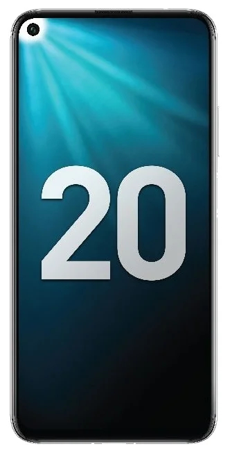 Honor 20 6/128GB морозный белый