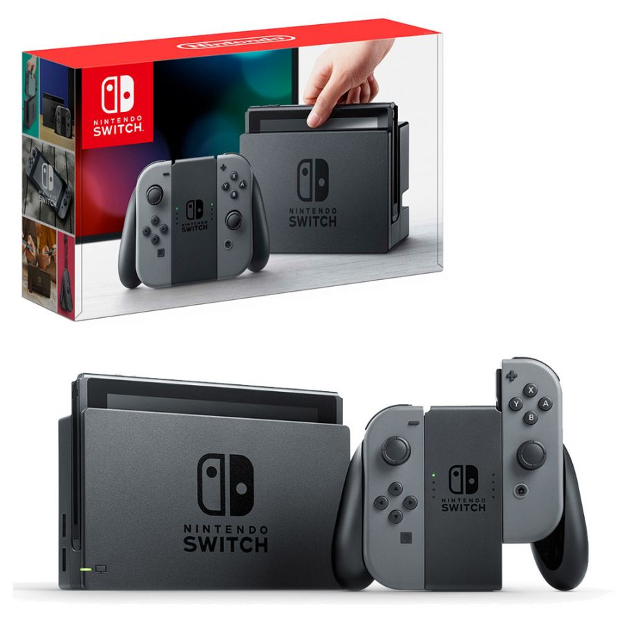 Nintendo Switch серый
