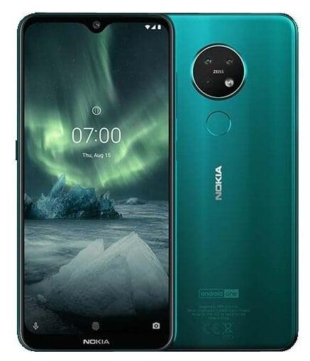 Nokia 7.2 64GB зелёный