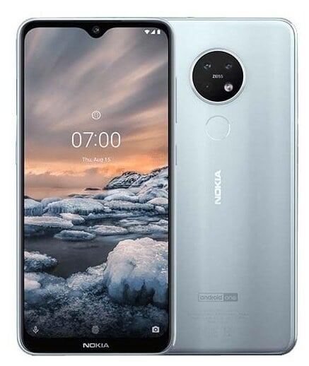 Nokia 7.2 64GB серебристый