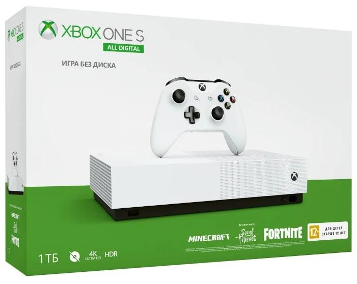 Microsoft Xbox One S 1 ТБ S All Digital